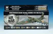 Vallejo Model Air verf set Soviet/Russian Colors Tactical Schemes 1978-1989 (Part II ) 71.608