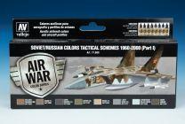 Vallejo Model Air verf set Soviet/Russian Colors Tactical Schemes 1960-2000 ( part I ) 71.609
