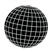 ASA Sjabloon Wereldbol A5