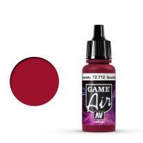 Vallejo Game Air 72.712 Scarlet Red