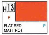 Gunze H13 Flat Red