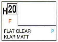 Gunze H20 Flat Clear