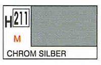 Gunze H211 Chrome Silver