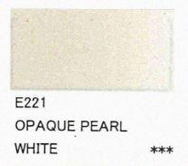E221 Opaque Pearl White