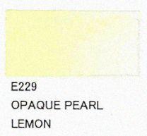 E229 Opaque Pearl Lemon