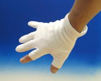 Katoenen handschoenen Maat L
