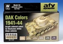 Vallejo AFV DAK Colors 1941-44 71.207