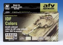 Vallejo AFV IDF Colors 71.210