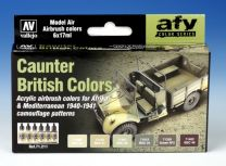 Vallejo AFV Caunter British Colors 71.211