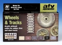 Vallejo AFV Wheels and Tracks 71.213