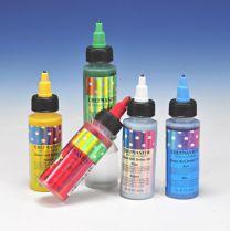 Chefmaster Airbrush Color Set 5 kleuren Metallic