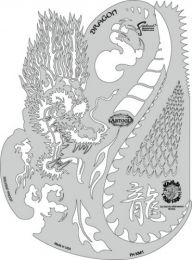 Artool Freehand sjabloon FHKM1 Dragon