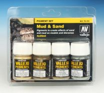 Vallejo Pigment Set Mud and Sand 73.191