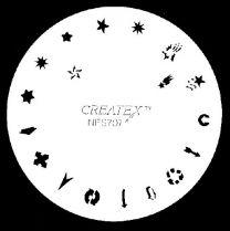 Nagelsjabloon Createx 262707