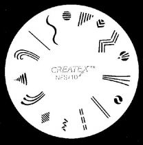 Nagelsjabloon Createx 262710