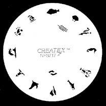 Nagelsjabloon Createx 262717
