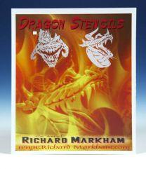 Markham Dragon Stencil Frontal