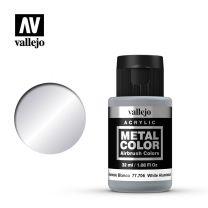 Vallejo Metal Color 77.706 White Aluminium
