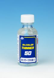 Gunze Mr. Color Thinner 50ml. Blauw etiket