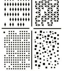 ASA Sjabloon Multi stencil A5