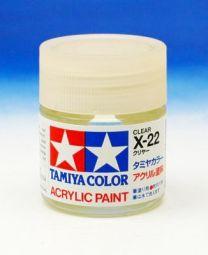 Tamiya clear X22
