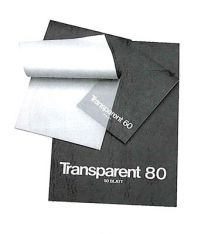 Transparant papier A2-formaat