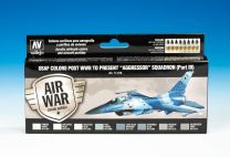Vallejo Model Air Verfset USAF Post WWII to Present -Aggressor- Squadron (Part III)  71.618
