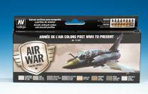Vallejo Model Air verfset Armée de l'air colors post WWII to Present. 71.627
