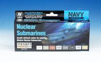Vallejo Model Air verfset Nuclear Submarines 71.611