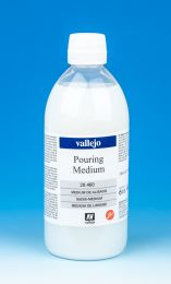 Vallejo Fluid Acrylic Pouring Medium 28.460