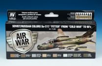 """Vallejo Model Air verfset Soviet / Russian Colors Su-7/17 """"Fitter"""" from -Cold War- to 90's 71.604"""