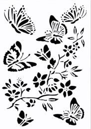 ASA Sjabloon Vlinderfamilie A5