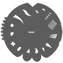 Nagelsjabloon Badger 600 904