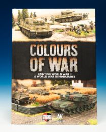 Boek Colours of War