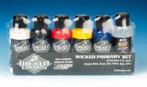 Createx Wicked Primary startset 5 kleuren