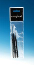 Elco Micro penseelset 3 stuks rond
