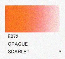 E072 Opaque Scarlet