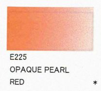 E225 Opaque Pearl Red