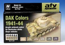Vallejo AFV DAK Colors 1941-44 71.207