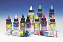 Chefmaster Airbrush Color Set 12 kleuren.