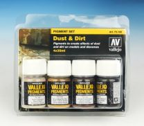 Vallejo Pigment Set Dust and Dirt 73.190