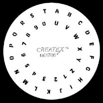 Nagelsjabloon Createx 262706