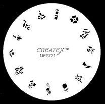 Nagelsjabloon Createx 262721