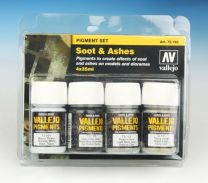 Vallejo Pigment Set Soot and Ashes 73.193