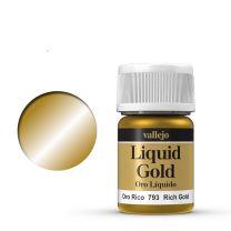 Vallejo Liquid Rich Gold 70.793