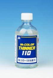 Gunze Mr. Color Thinner 110 Blauw etiket 100ml.