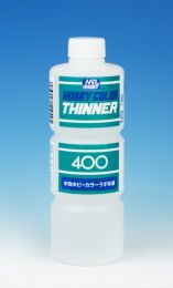 Mr. Hobby Color Thinner (400ml.) blauw / groen etiket