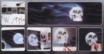 H & S Freehand SjabloonSkull Set 2 410137