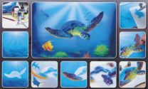 H & S Freehand Sjabloon Turtle Sealife 410138