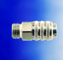 Snelkoppeling 1/8 buitendraad (airbrush)